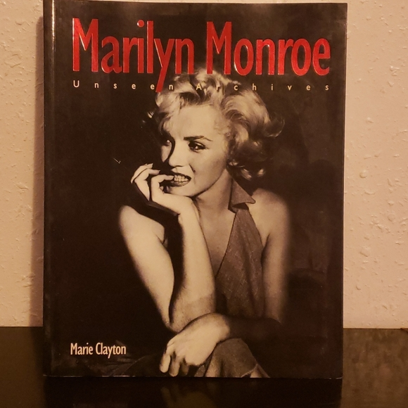 Marilyn Monroe Unseen Archives Softcover book